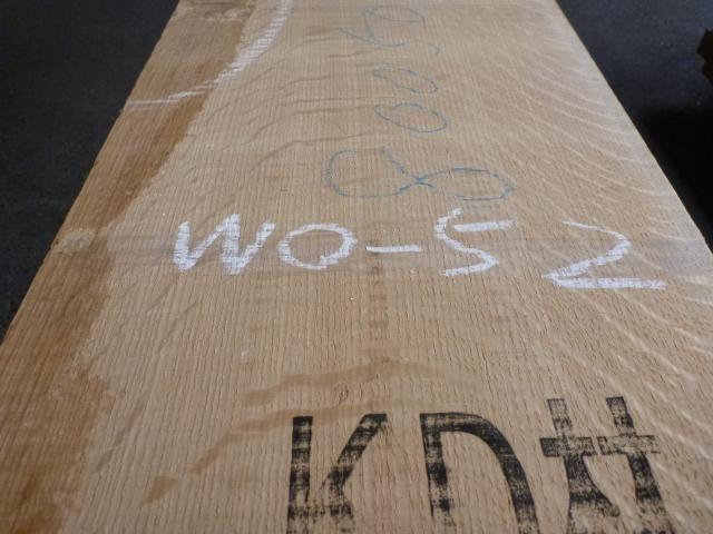 ホワイトオーク国内挽き 柾目 WO-52