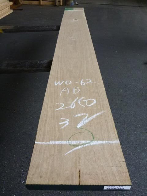 ホワイトオーク サンダ仕上げ 板目 WO-62