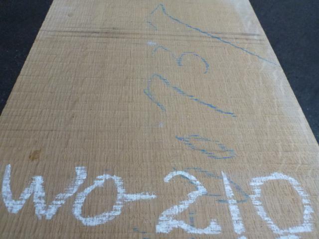 ホワイトオーク  国内挽き柾目 WO-210
